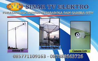 PAKET ANTENA TV VILLA TANGERANG INDAH | 0878 8956 3726