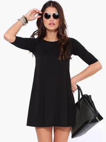 www.shein.com/Black-Half-Sleeve-Casual-Dress-p-191190-cat-1727.html?aff_id=2525