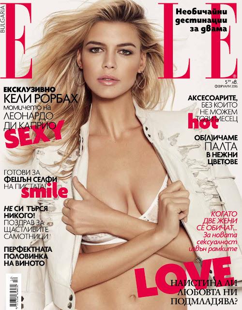 Actress, Model, @ Kelly Rohrbach - Elle Bulgaria, February 2016