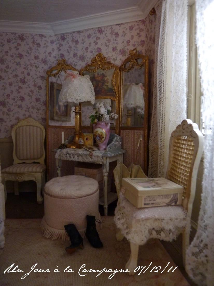 la chambre rose. Black Bedroom Furniture Sets. Home Design Ideas