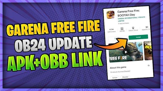 Android için ücretsiz Fire OB24 güncellemesi: APK + OBB indirme bağlantıları
