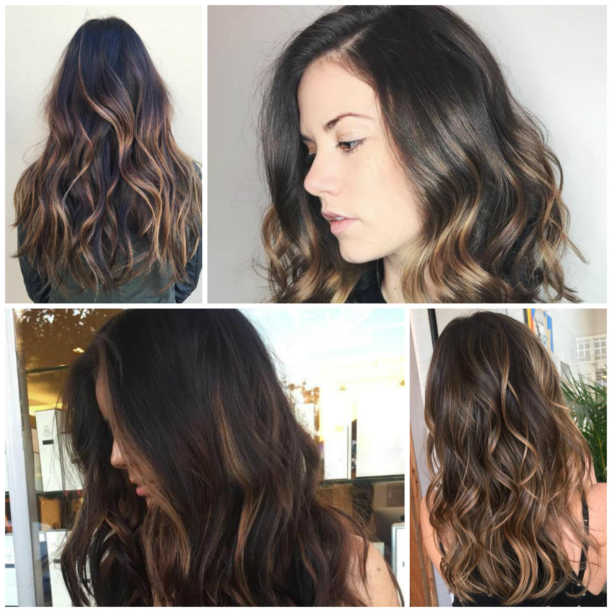 6 Highlighted Hair For Brunettes In 2018 Hairstyles Hair Color
