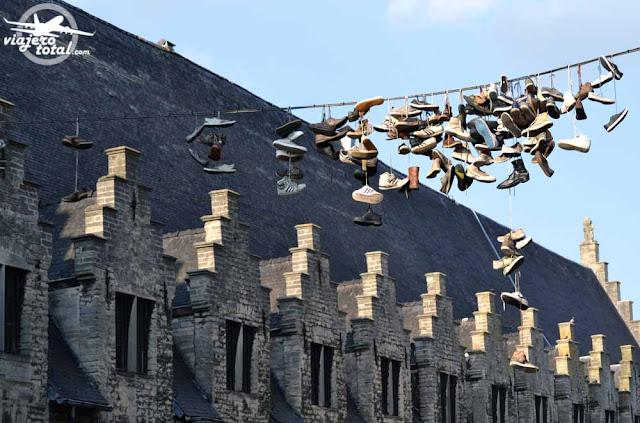 Gante - Ghent - Gent - Bélgica - Belgium - zapatos