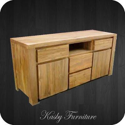 Buffet atau credenza minimalis Jati dengan  laci memberikan tambahan fungsiaonal pada furniture  ini. di buat dengan  material kayu jati dan finishing yang berkualitas, furniture  ini terlihat simple tapi berkesan elegant . Buffet yang kami sediakan bervariabel dari yang jenis ukiran, bahan kayu jati maupun mahoni , gaya klasik / minimalis dll. dapatkan kemudahan berbelanja di toko mebel online kami Kasby Furniture.
