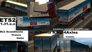 Reefer Schmitz Cargobull S.KO 4 axles [V1.2]