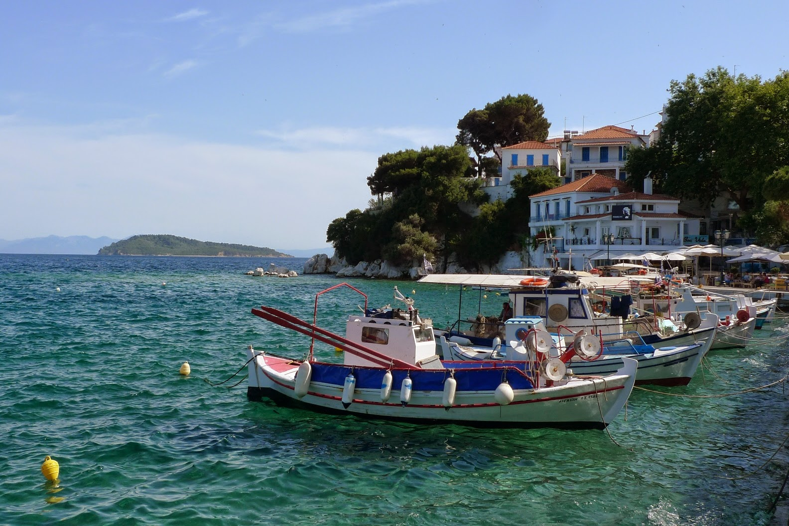 Co zobaczyć na Skiathos - cz. I/?What to see on Skiathos?-part I