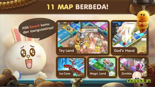 Download LINE Let's Get Rich APK MOD v 1.8.1 Terbaru