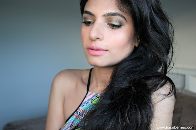 Loreal blush in a rush matte lipstick on nc 32 skin