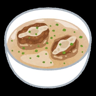 テールスープのイラスト