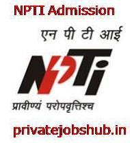 NPTI Admission