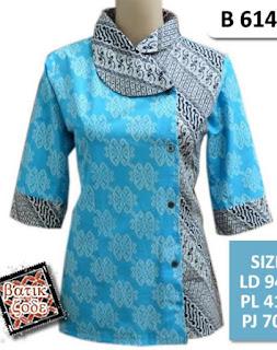 Baju Batik 2 Motif Terbaru 2017
