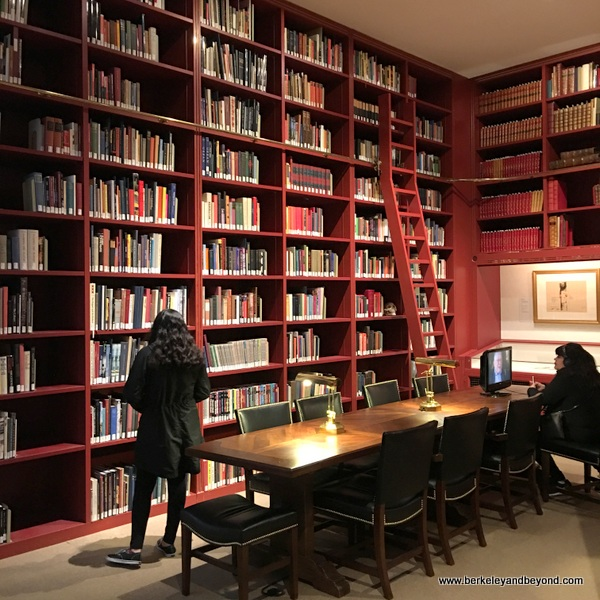 old wing library at McNay Art Museum in San Antonio, Texas