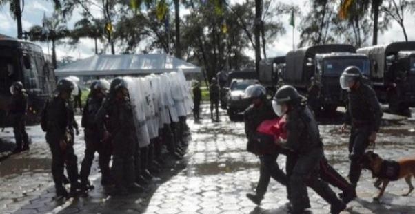 Operação Oásis adestra tropa do CMNE em GLO