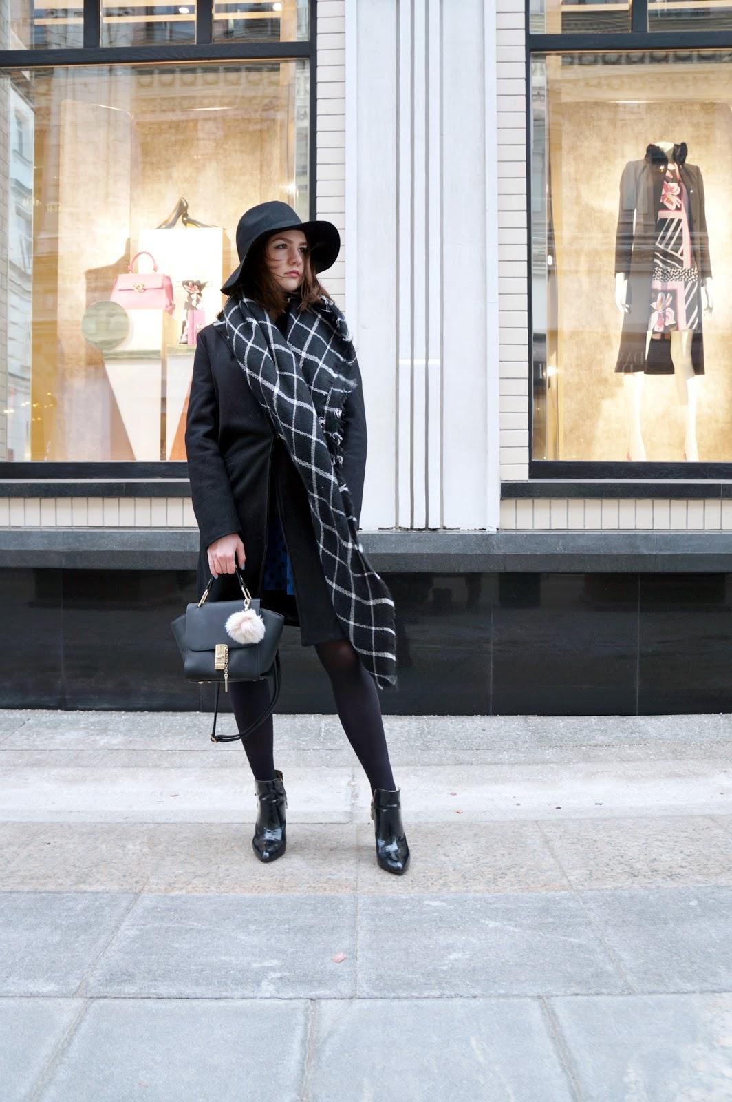 Black Coat | Fashion Blogger