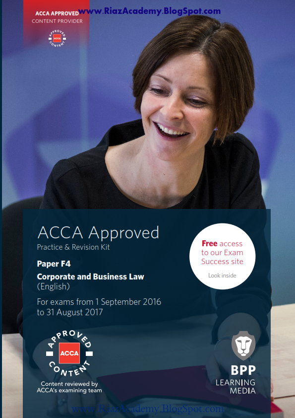 2016-17-ACCA-F4-REVISION KIT-CORPORATE AND BUSINESS LAW (ENG)