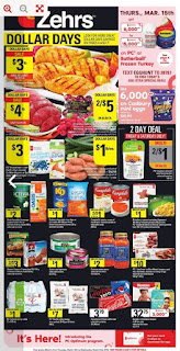 Zehrs Weekly Flyer March 15 – 21, 2018