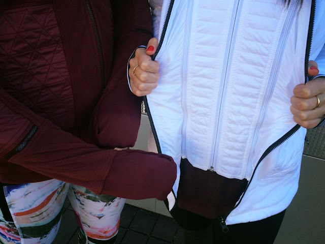 lululemon fleecy-keen-jacket whit-wine-berry