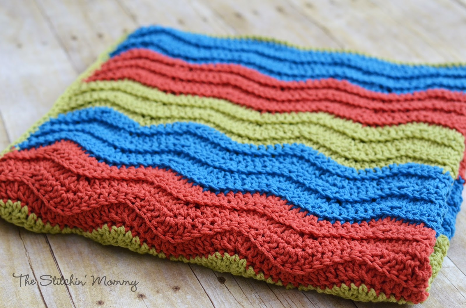 Zig Zag Crochet Blanket Pattern Simple Ideas