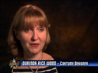 Durinda Rice Wood - TNG season 2 costume designer