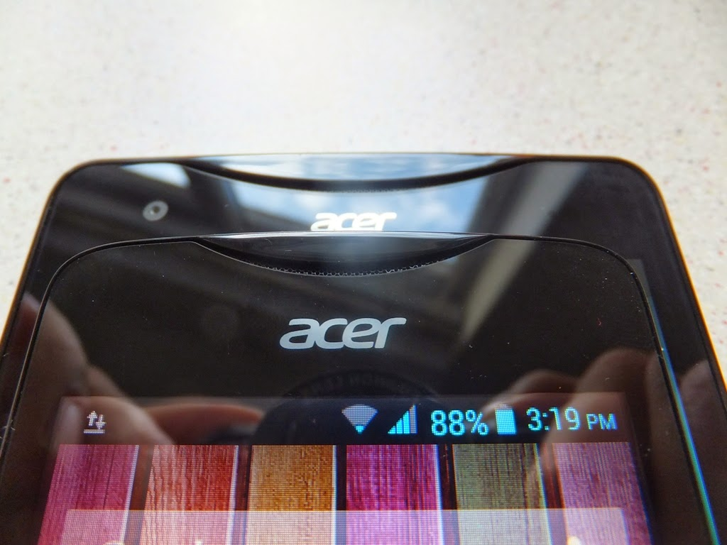 Acer S Liquid Review Display