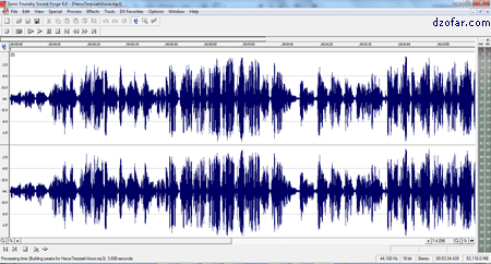 Grafik Suara Sound Forge 6