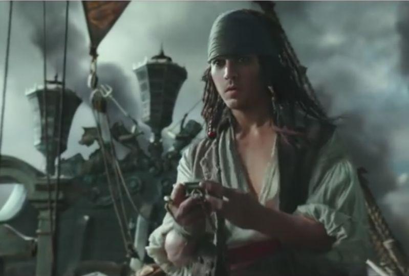 Jack Sparrow bekommt seinen Kompass