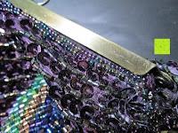Lücken: Sumolux Schöne Handtasche Tasche Partytasche Abendtasche Tasche für Frauen Tasche für Damen Lila