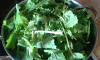 cómo escaldar las verduras