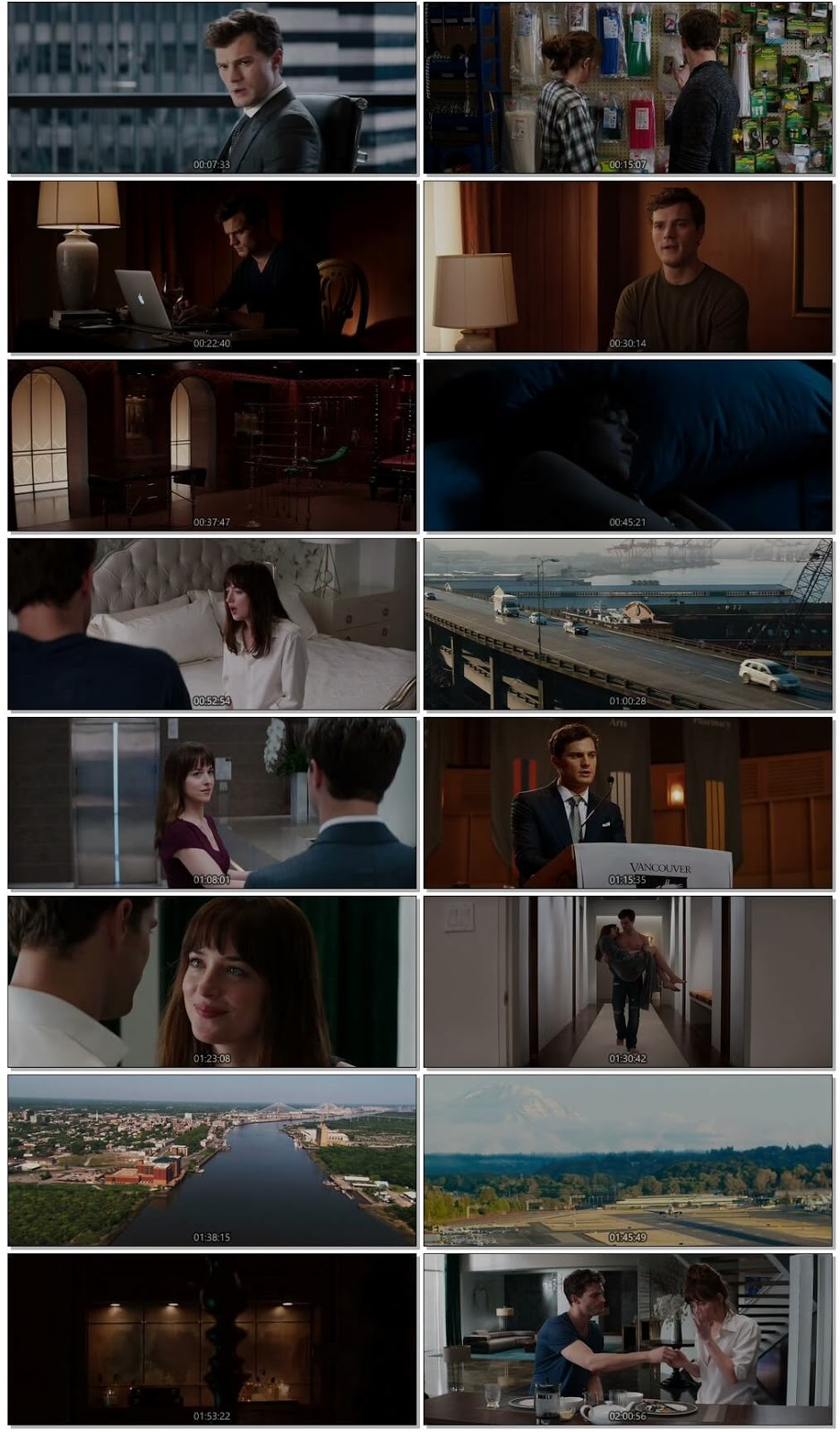 Fifty Shades of Grey 2015 English 720p HEVC UNRATED BluRay ESubs