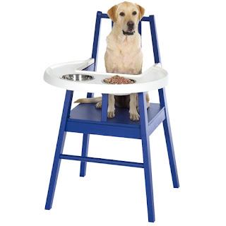Christine Liang: Ikea Houndstol doggy high chair