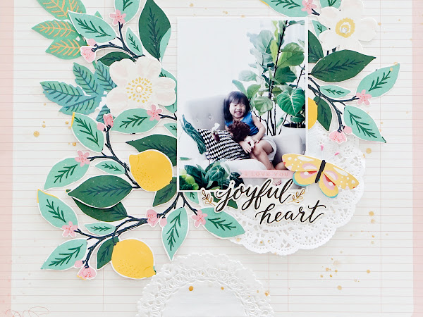 Maggie Holmes Design Team : Joyful Heart