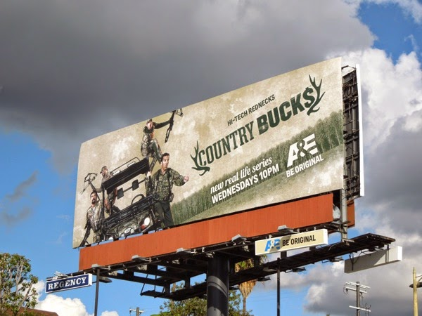 Country Bucks series premiere billboard