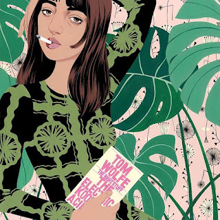 monstera leaves, floral patterns and portraits by Bijou Karman