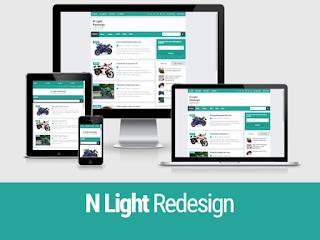 N Light Redesign - Template Responsive dan Loading cepat yang keren