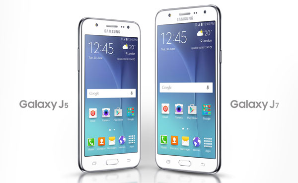 Samsung Galaxy J7 vs J5