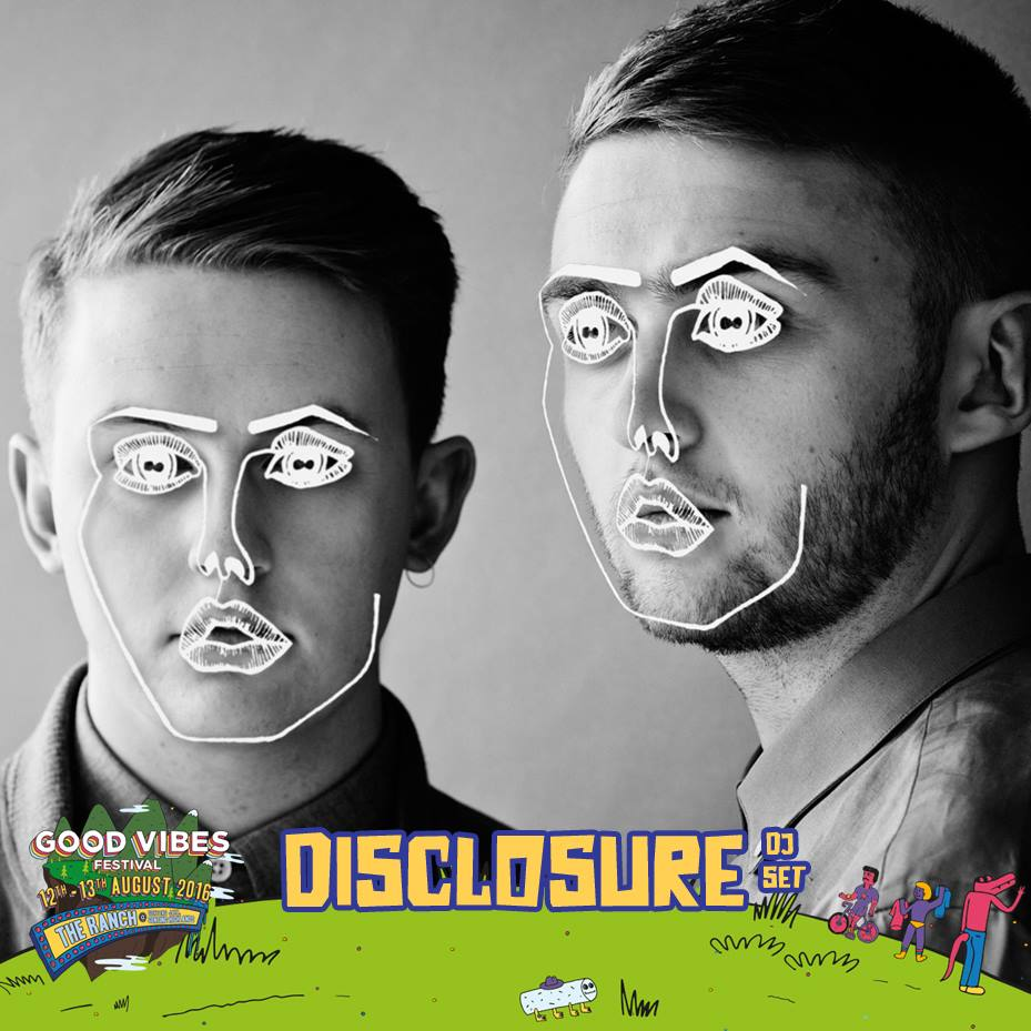Good Vibes Festival Adds Disclosure To Its Line-up