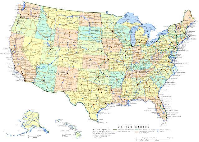 GAmbar Peta Amerika 6