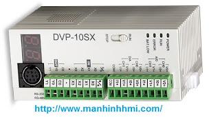 PLC Delta DVP10SX11T tích hợp analog điều khiển biến tần ổn định áp suất nước