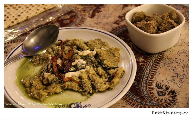 Iran: Getting Dizzi with Food - Kashkbademjan - Ramble and Wander