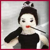 Audrey Hepburn de punto