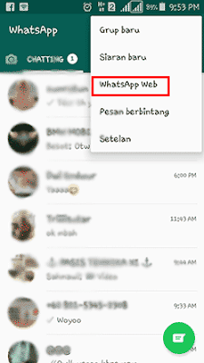 whatsapp di android