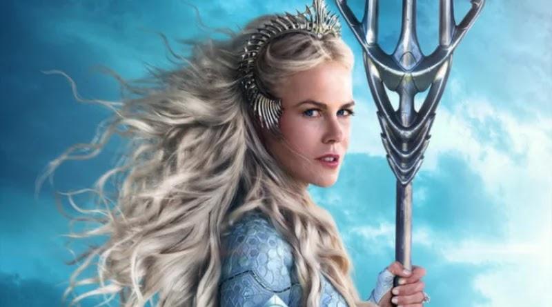 Nicole Kidman como Rainha Atlanna