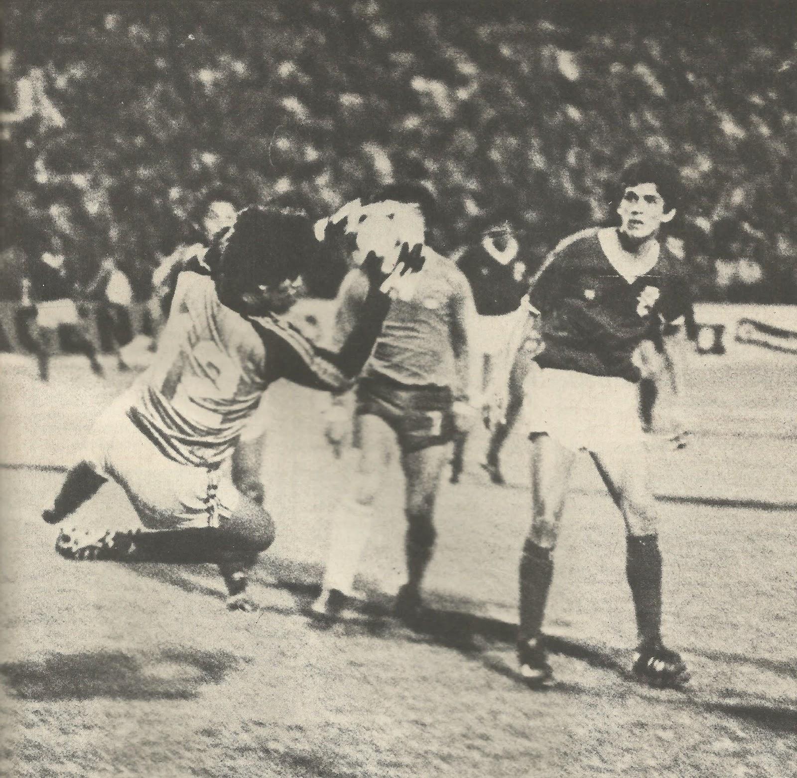 Chile y Bolivia en partido amistoso, 24 de agosto de 1983