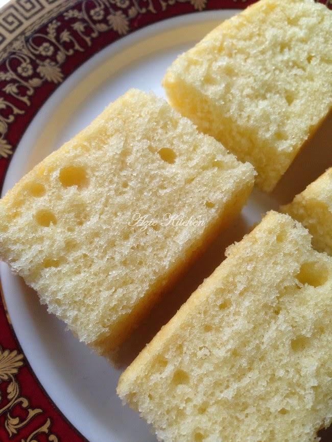 Kek Butter Yang Lembab dan Sedap