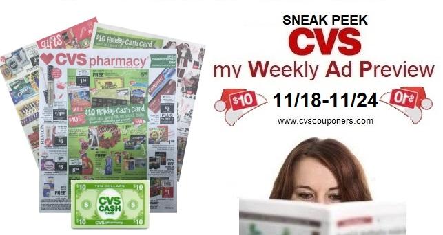 CVS Ad 11/18-11/24 2018