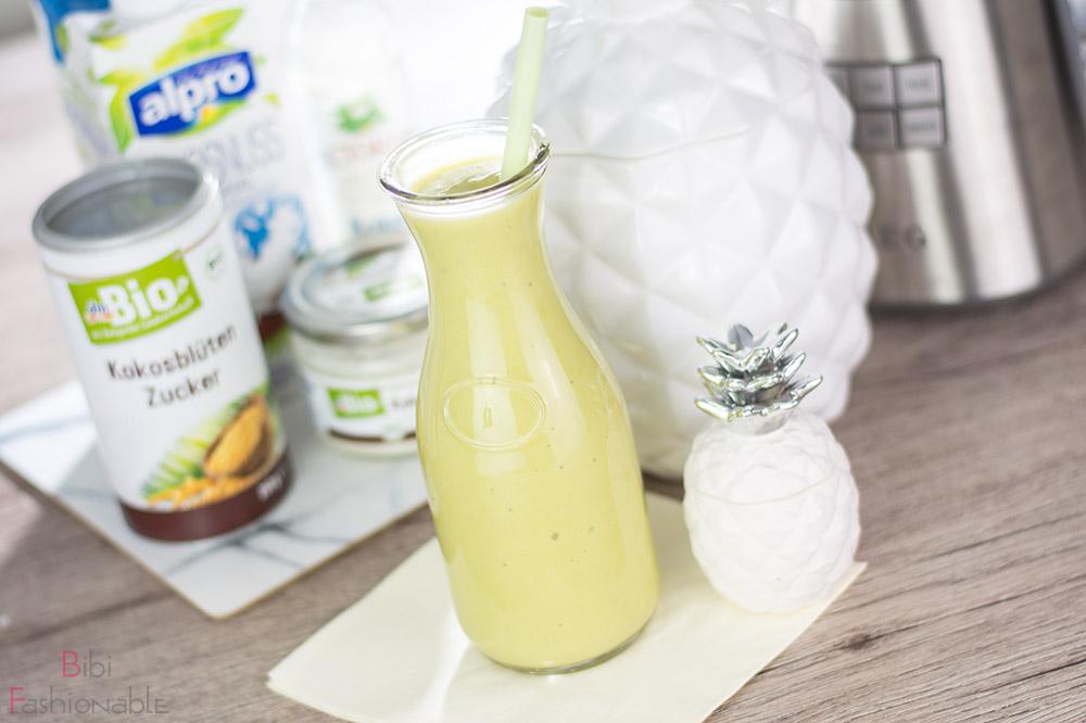 cremiger Ananas-Kokos Smoothie
