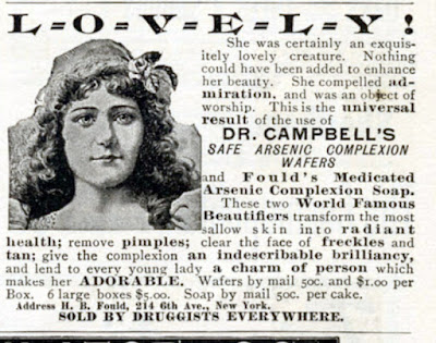Dr Campbell's Arsenic Complexion Wafers