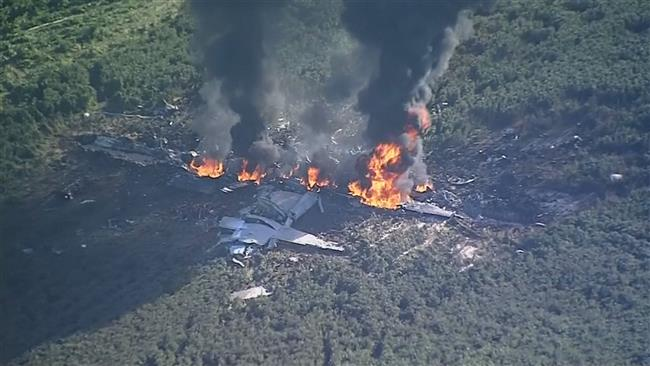 Sixteen servicemen dead as US military plane crashes in Mississippi