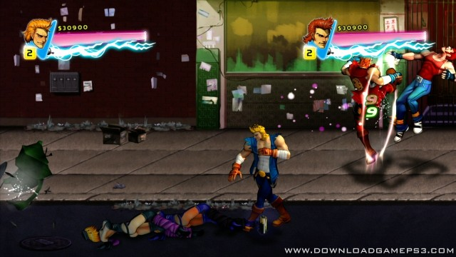Double Dragon Neon Psn Download Game Ps3 Ps4 Ps2 Rpcs3 Pc Free