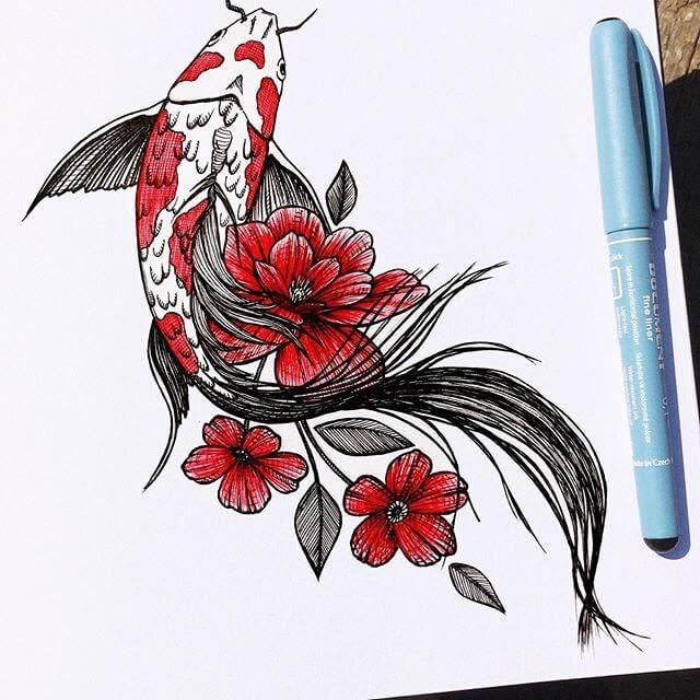07-Koi-Fish-Papa-Nory-www-designstack-co